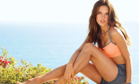 Alessandra Ambrosio Covers Self, Reveals Workout Secrets