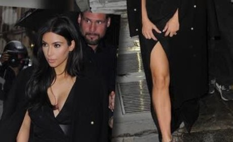 Kim Kardashian in Paris: Revealing!