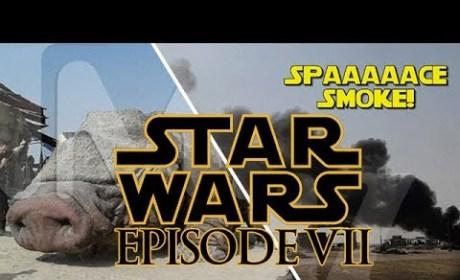 Star Wars Episode VII Photos