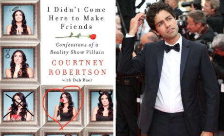 Courtney Robertson on Adrian Grenier's Penis: It's HUGE!