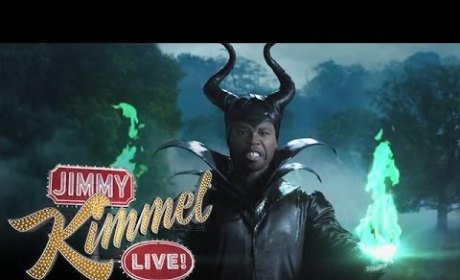 50 Cent and Jimmy Kimmel Spoof Maleficent, Present... MaleFiftyCent!