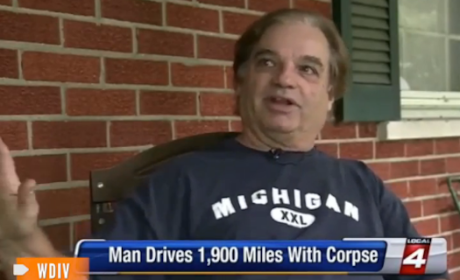 Michigan Man Keeps Road Trip Going After Girlfriend Dies in Car, Drives Across U.S. With Corpse