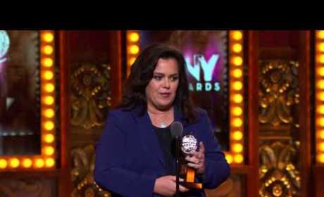Rosie O'Donnell Tony Awards Acceptance Speech