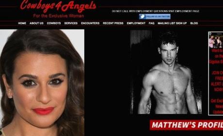 Matthew Paetz, Gigolo, Dating Lea Michele