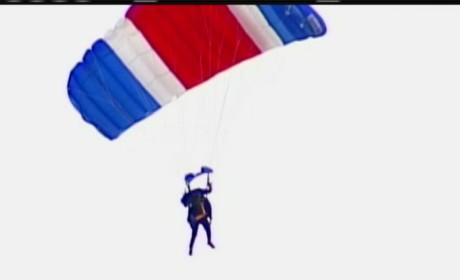 George H.W. Bush Celebrates 90th Birthday...By Skydiving!