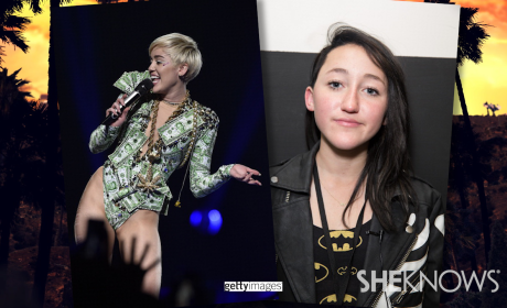 Miley Cyrus Hits Nightclub With 14-Year Old Sister