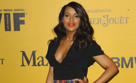 Kerry Washington Reveals Post-Baby Body, Looks Amazing!