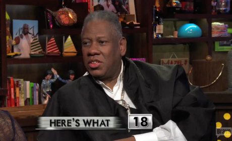 Andre Leon Talley Speaks on Kimye Wedding, First Kiss: Total Tongue Engagement!