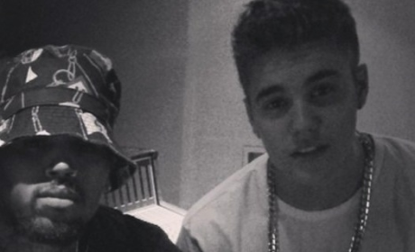 Justin Bieber Collaborates with Chris Brown: See the Photo!