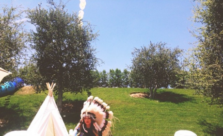 "Khloe Kardashian Slammed as ""Insensitive"" for Wearing Native American Attire"
