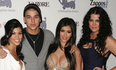 Rob Kardashian: Totally Ignoring Kim and Khloe, Still in a Bad Place