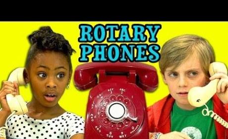 Kids React to Rotary Phones: How Do You Dial?!?