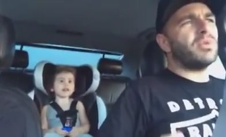 "Dad Gets TOTALLY Into ""Let It Go,"" Sets New Parenting Standard"