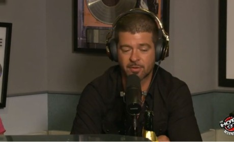 Robin Thicke: I Haven't Seen Paula Patton in Four Months!