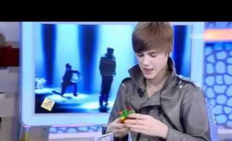 Justin Bieber Solves Rubiks Cube in Under 2 Minutes
