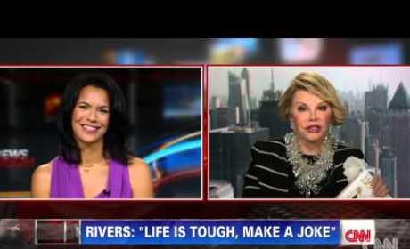 Joan Rivers Cuts Short CNN Interview