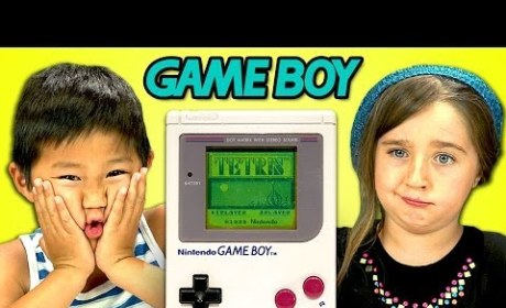Kids React to Game Boy with Confusion, Gratitude