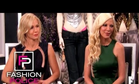Tori Spelling Dodges Joan Rivers' Questions About Her Marriage! Awkwardness Alert!
