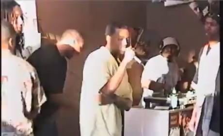 Kanye West Raps at Age 19