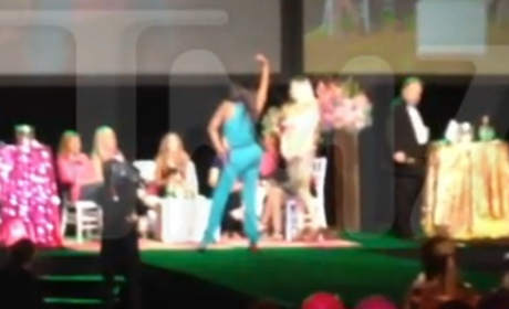 Kenya Moore Falls Off Stage in Vegas, No One All That Heartbroken