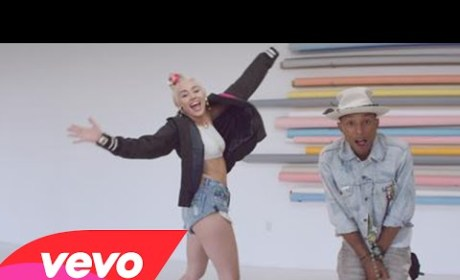 "Miley Cyrus, Pharrell Drop ""Come Get It Bae"" Music Video: First Look!"