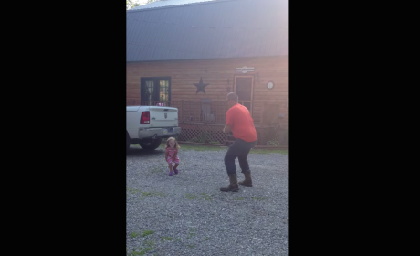 Father Twerks with Daughter