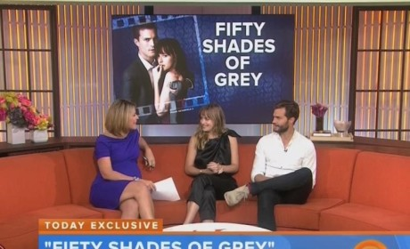 Jamie Dornan and Dakota Johnson Talk Fifty Shades of Grey, Sexual Acrobatics