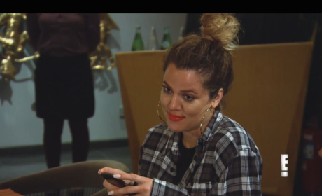 Keeping Up with the Kardashians Klip: Kim vs. Khloe!