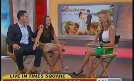 Andi Dorfman, Josh Murray on Good Morning America