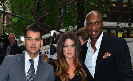 Rob Kardashian Drug Woes, Weight Gain Blamed on Lamar Odom Abandonment