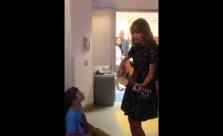 Taylor Swift Spends Day With Young Leukemia Patient: Watch the Heartwarming Video