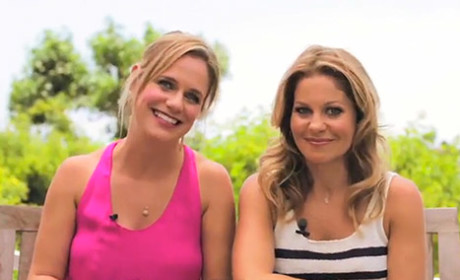 Candace Cameron Bure and Andrea Barber on Full House: OUR Kids Love It!