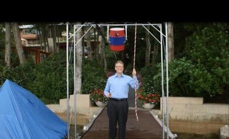 Bill Gates Takes Ice Bucket Challenge