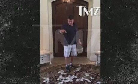 Charlie Sheen Accepts Ice Bucket Challenge in Most Charlie Sheen-Like of Ways