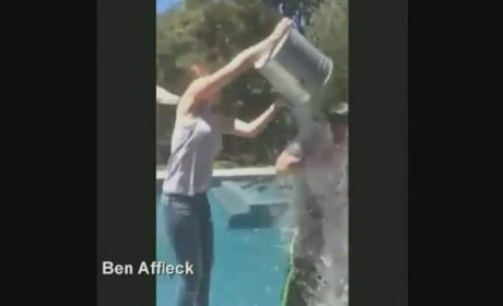 Ben Affleck Accepts, Possibly Wins ALS Ice Bucket Challenge