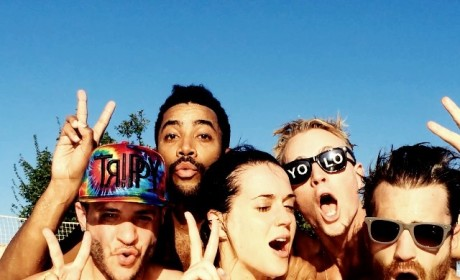 Katy Perry Bikini Video Features Epic Cleavage Close-Up!