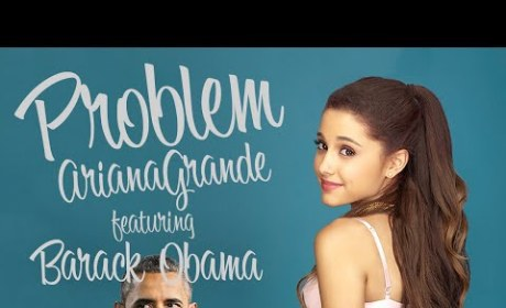 Barack Obama - Problem (Ariana Grande Lip Dub)