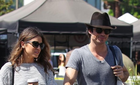 Ian Somerhalder and Nikki Reed: Living Together!!