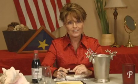 "Sarah Palin Accepts ""Ice Bucket Water Dump Thing,"" Makes Us Laugh"