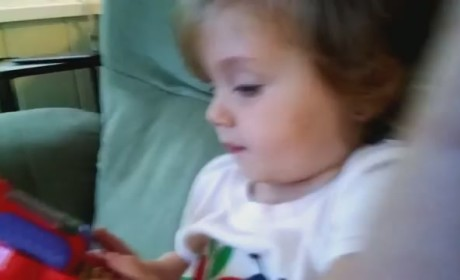 Adorable Girl Reacts to Rocket Launch: Oh My Goodness!