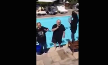 George R.R. Martin Takes Ice Bucket Challenge