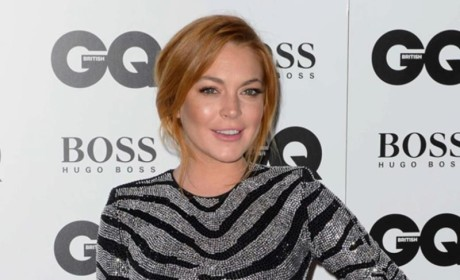 Lindsay Lohan Went to the GQ Awards...To Get Laid!