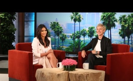 Kim Kardashian Talks Kids on Ellen
