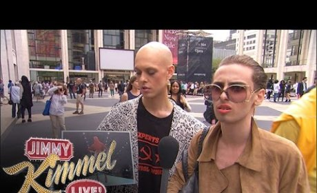 Jimmy Kimmel Fools New York Fashion Week Attendees