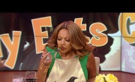 Wendy Williams Admits to Kimye Misjudgement, Literally Eats Crow