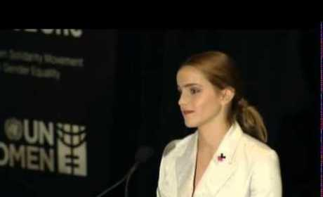 Emma Watson Threatened With Nude Photo Leak Following UN Speech on Gender Equality