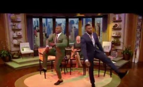 Terry Crews-Michael Strahan Dance-Off: Who Won the Epic, Live Battle?!?