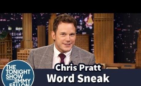 Chris Pratt Plays Word Sneak
