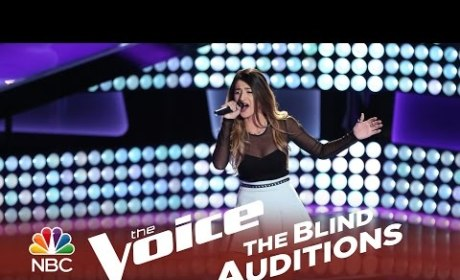Mia Pfirrman - Unconditionally (The Voice Audition)