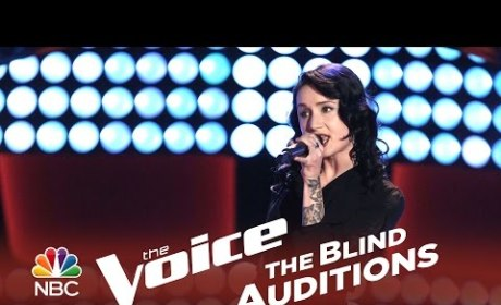 Bree Fondacaro - It Ain't Me Babe (The Voice Audition)